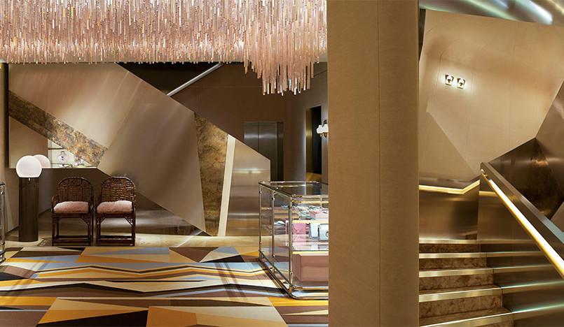 Dimore Studio для Fendi: флагманский бутик в Лондоне