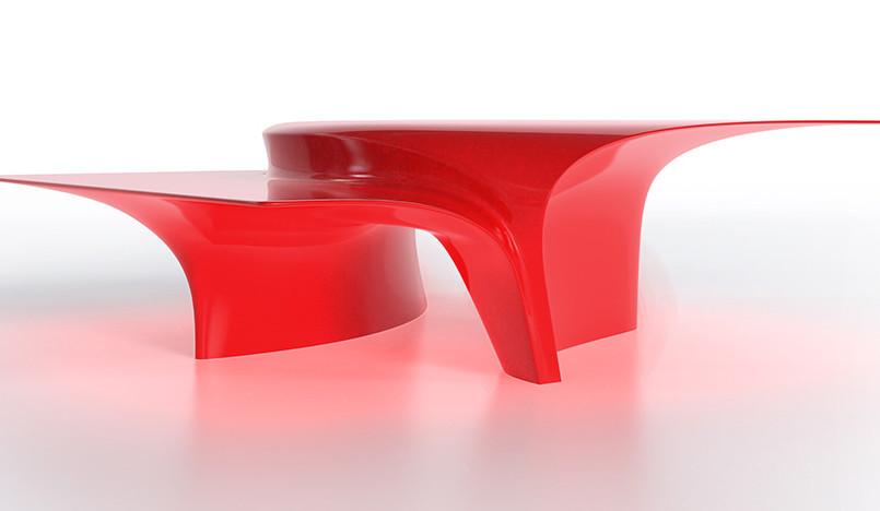 Zaha Hadid Design: кофейный столик для Sawaya&Moroni