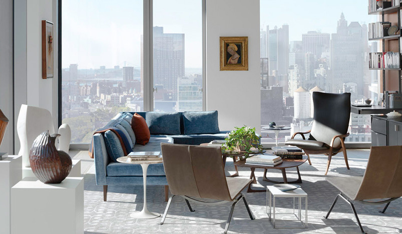 Квартира на Манхэттене по проекту Deborah Berke Partners