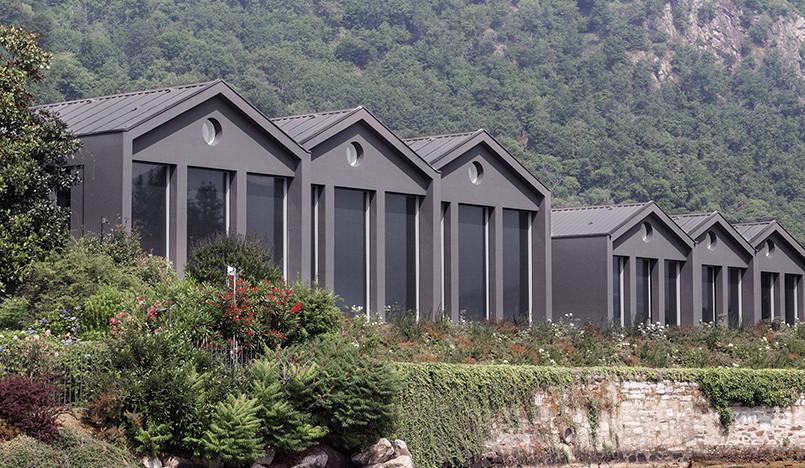 Пьеро Лиссони обновил штаб-квартиру Fantini на озере Орта