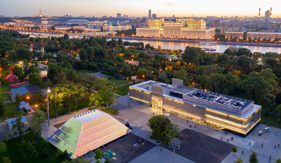 Garage Screen: конкурс на создание летнего кинотеатра в Москве