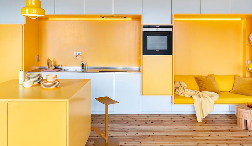 Желтая квартира в Стокгольме
