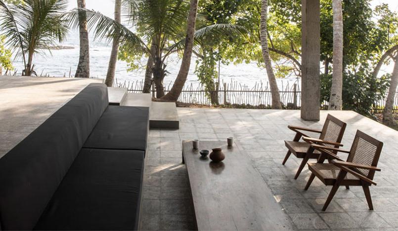 K-House на берегу Индийского океана