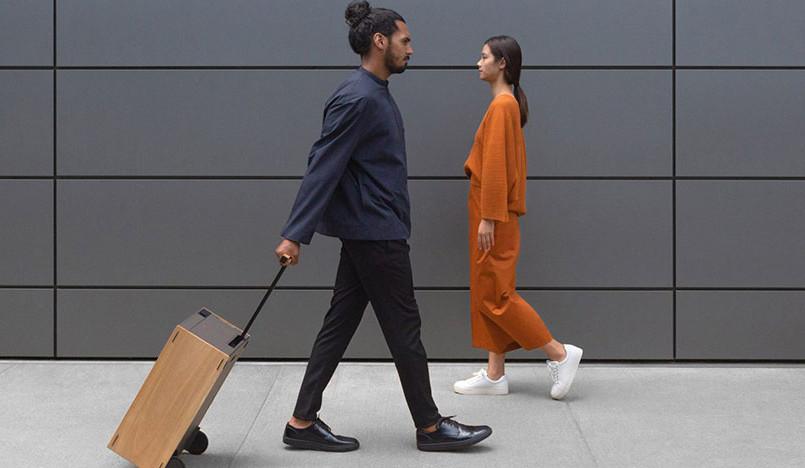 Charles Simon: чемоданы с авиационным дизайном