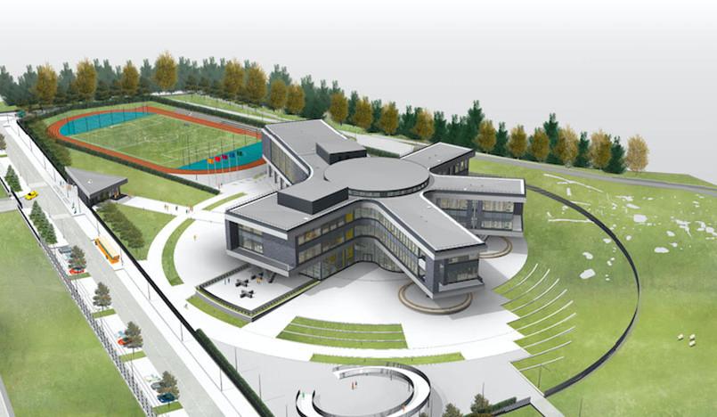 Школа будущего в Подмосковье по проекту Archstructura