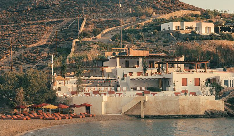 Фабрицио Казираги: Ftelia Beach Club на острове Миконос