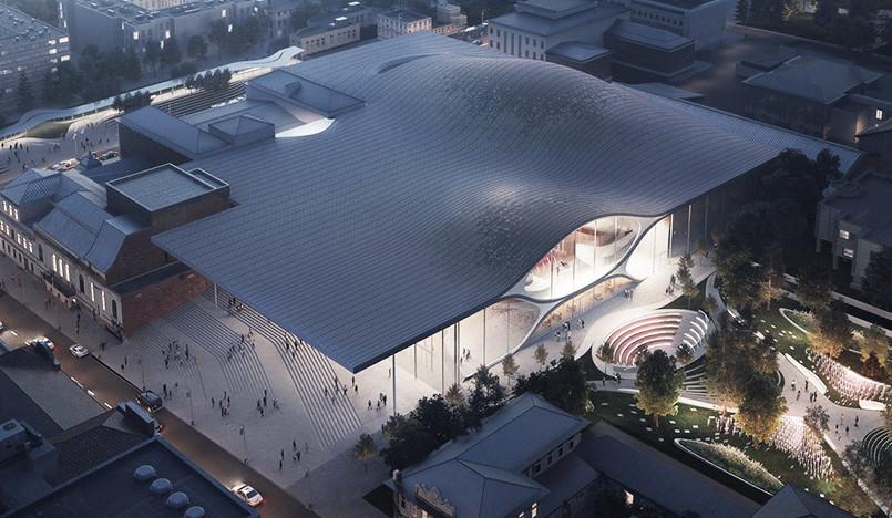Zaha Hadid Architects построят Свердловскую филармонию