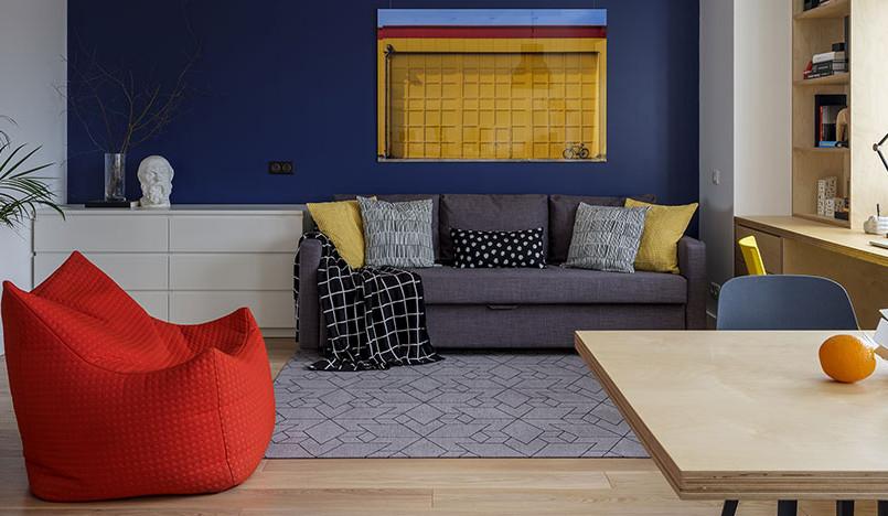 «Однушечка»: квартира-студия для сдачи в аренду