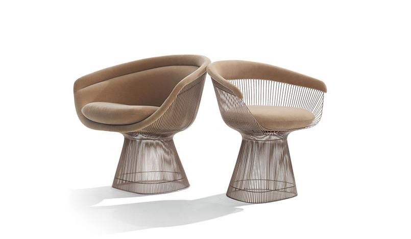 100 лет дизайна: кресло Platner Уоррена Платнера