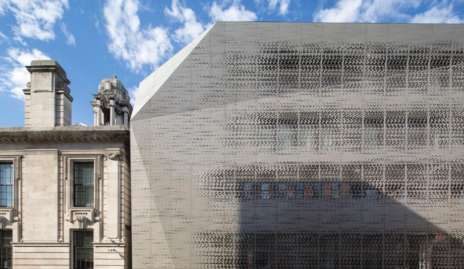 DROO + NAME: вуаль на лондонской ратуше