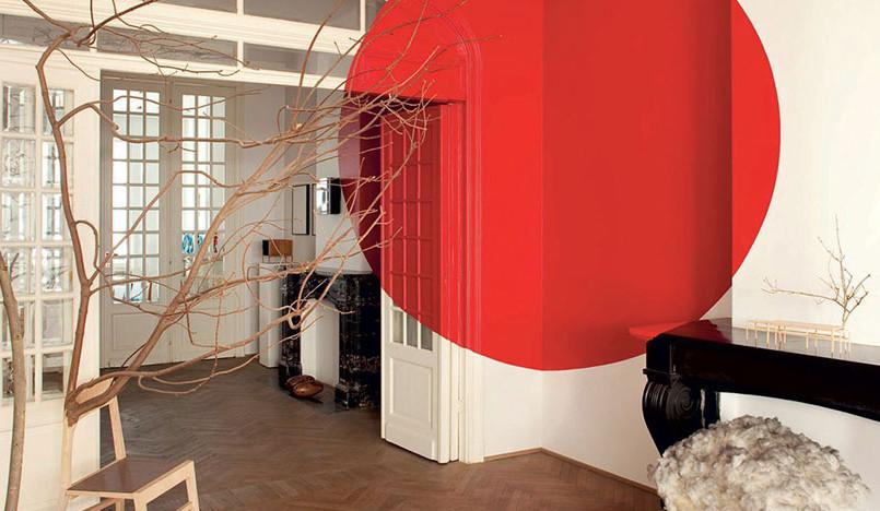 Экология и ресайклинг в квартире-офисе Шарля Кезана
