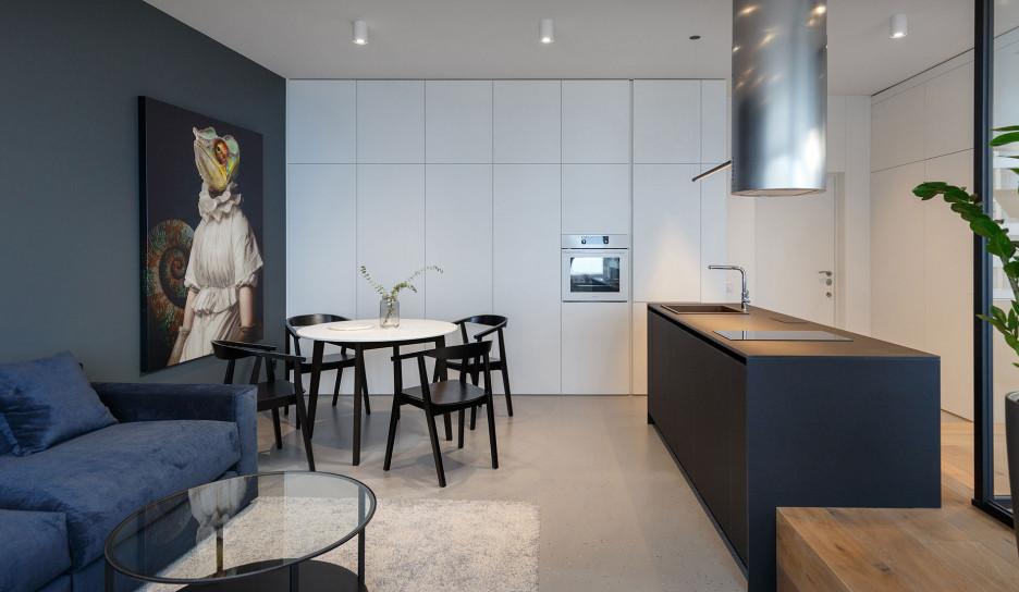 SVOYA studio: квартира 47 кв. метров с видом на море