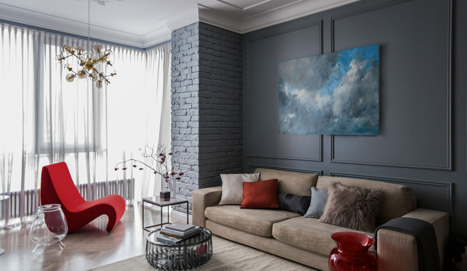 Юлия Агзамова: семейная квартира в Перми