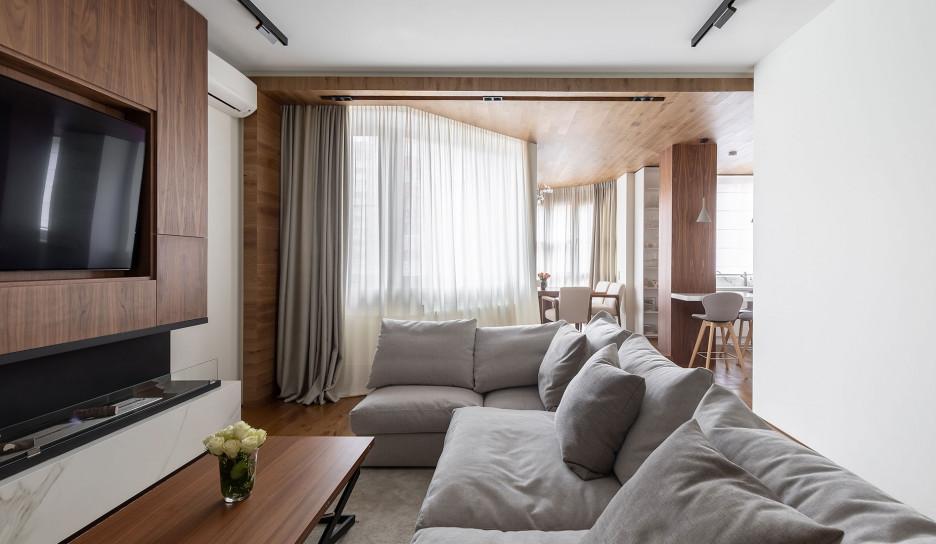 AI-architects: спокойная квартира в Филях