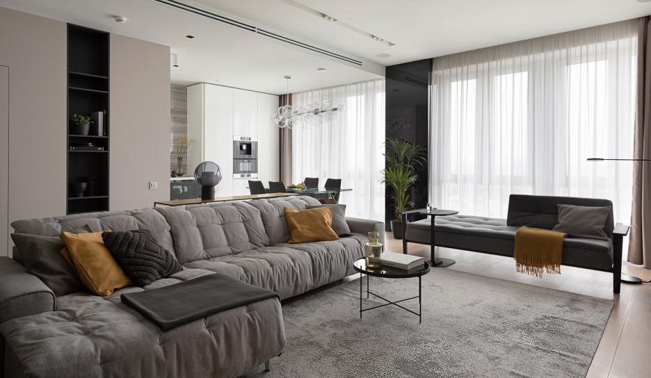 Студия InsDesign: современная квартира в Сокольниках