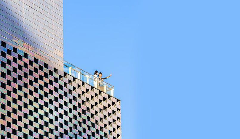 MVRDV: радужный куб в Пекине