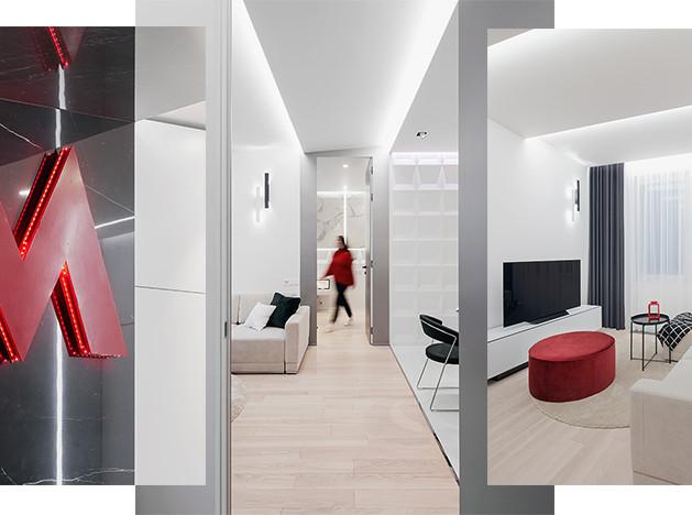 Проект Bureau LSD: необычная квартира с символом метро