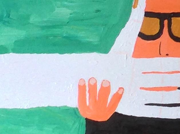 Двенадцатилетний художник Маркус Мартинович: выставка в Москве