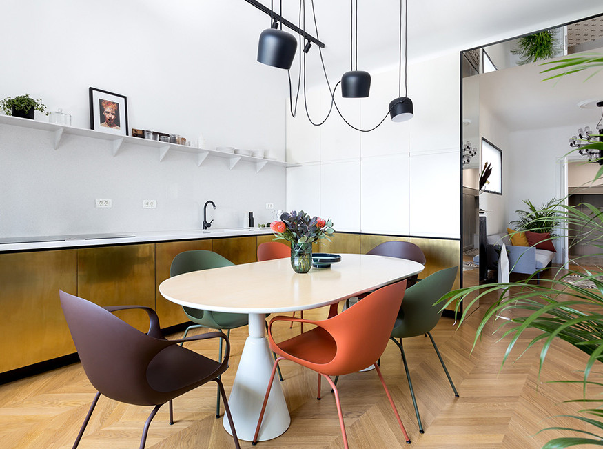 Обновленная квартира в Бухаресте