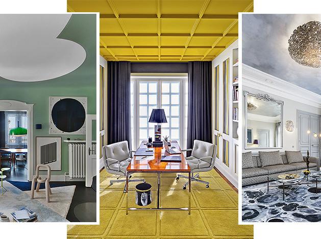 Необычные потолки: 55 примеров