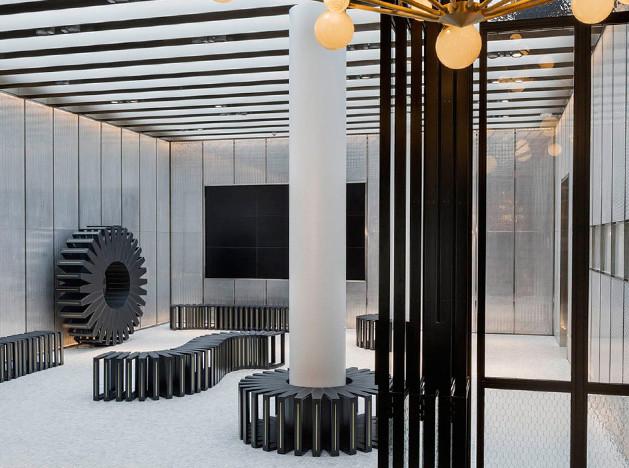 Центр Intersect by Lexus в Нью-Йорке