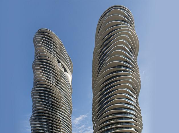 SPARK Architects: башни Arte S в Малайзии
