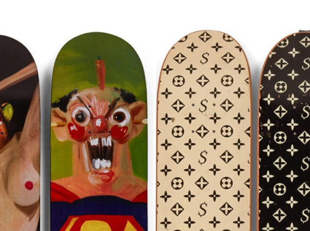 248 cкейтбордов на аукционе Sotheby's