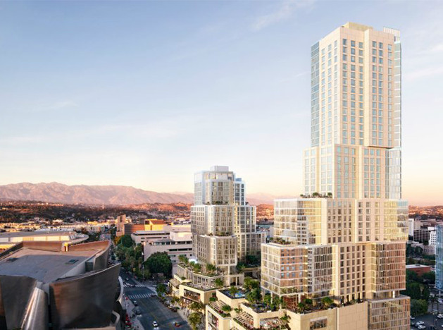 Фрэнк Гери перестраивает Лос-Анджелес