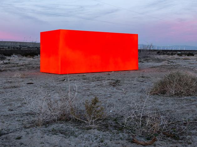Desert X: оптический обман Стерлинга Руби
