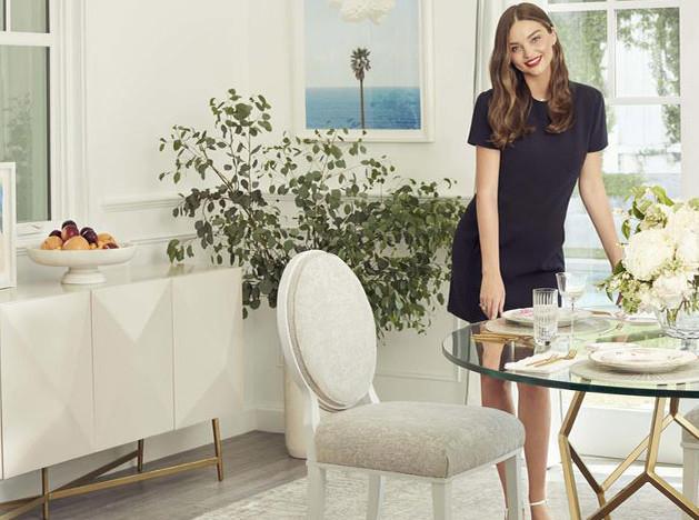 Миранда Керр выпустила первую коллекцию для дома