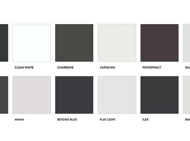 Paint&Paper Library: черно-белая коллекция красок
