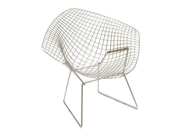 100 лет дизайна: кресло Diamond Гарри Бертойя