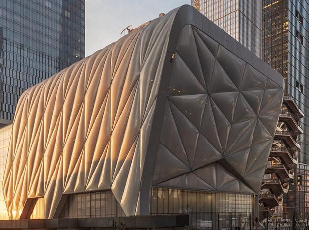Лучшие постройки 2019: арт-центр The Shed в Нью-Йорке
