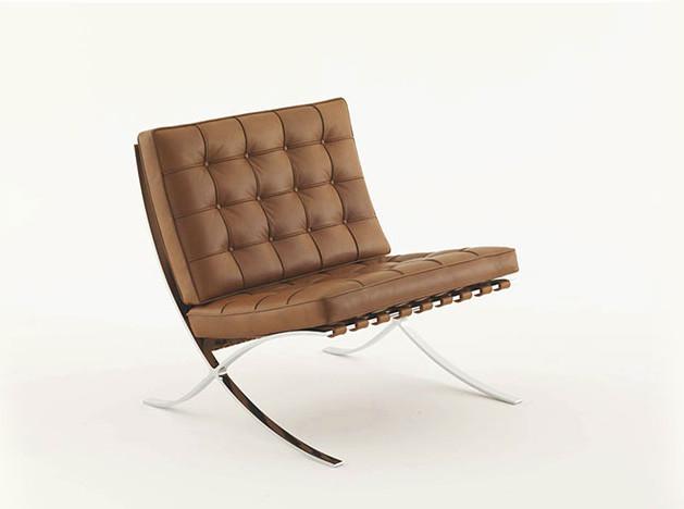 100 лет дизайна: кресло Barcelona Миса ван дер Роэ