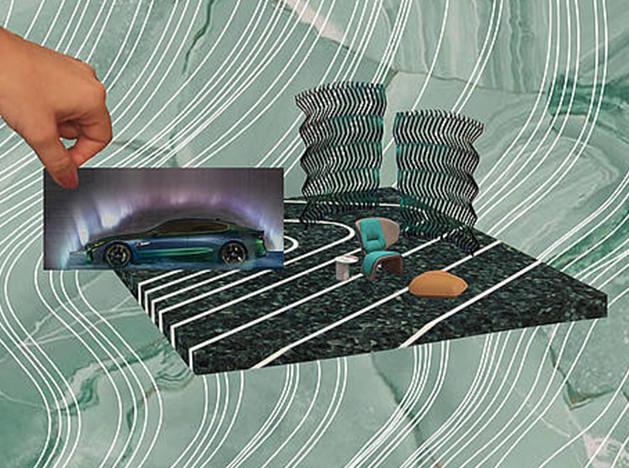 Патрисия Уркиола: наливной пол для BMW
