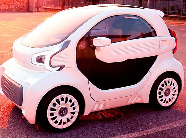 3D Printed Car: напечатанный электромобиль вошел в серию
