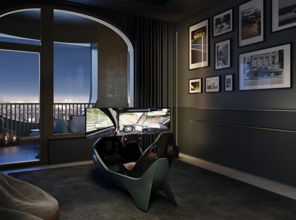 Апартаменты в Нью-Йорке по проекту Дэвида Аджайе