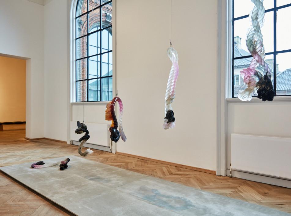 Проект Марии Кошенковой на выставке Charlottenborg Spring Exhibition 2020
