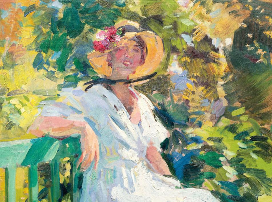 Лондонский аукцион русского искусства Christie's: Коровин и женское искусство
