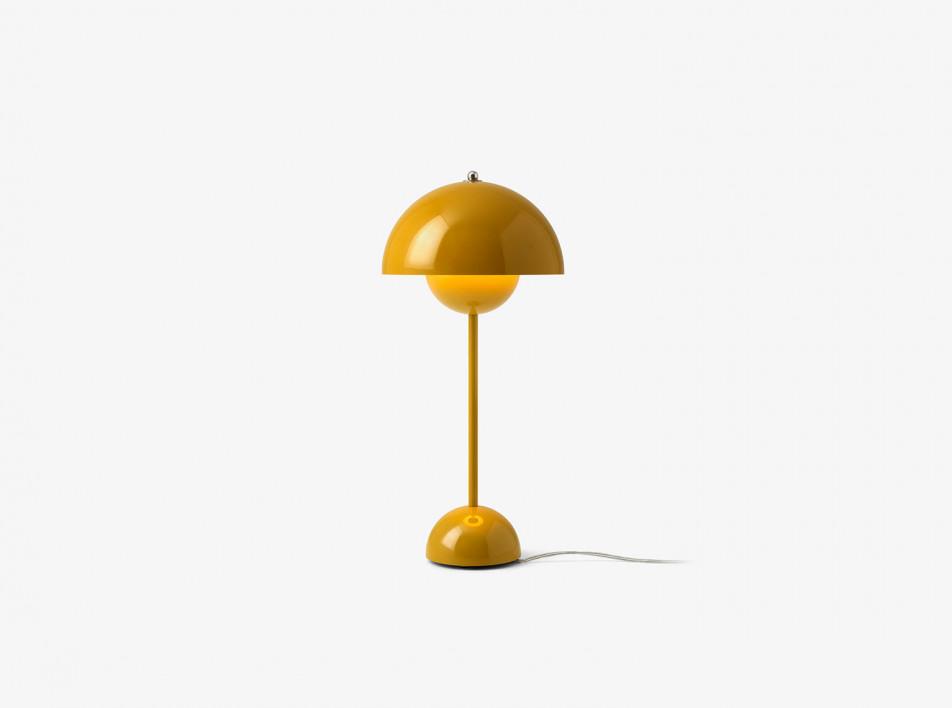 100 лет дизайна: светильник FlowerPot Вернера Пантона