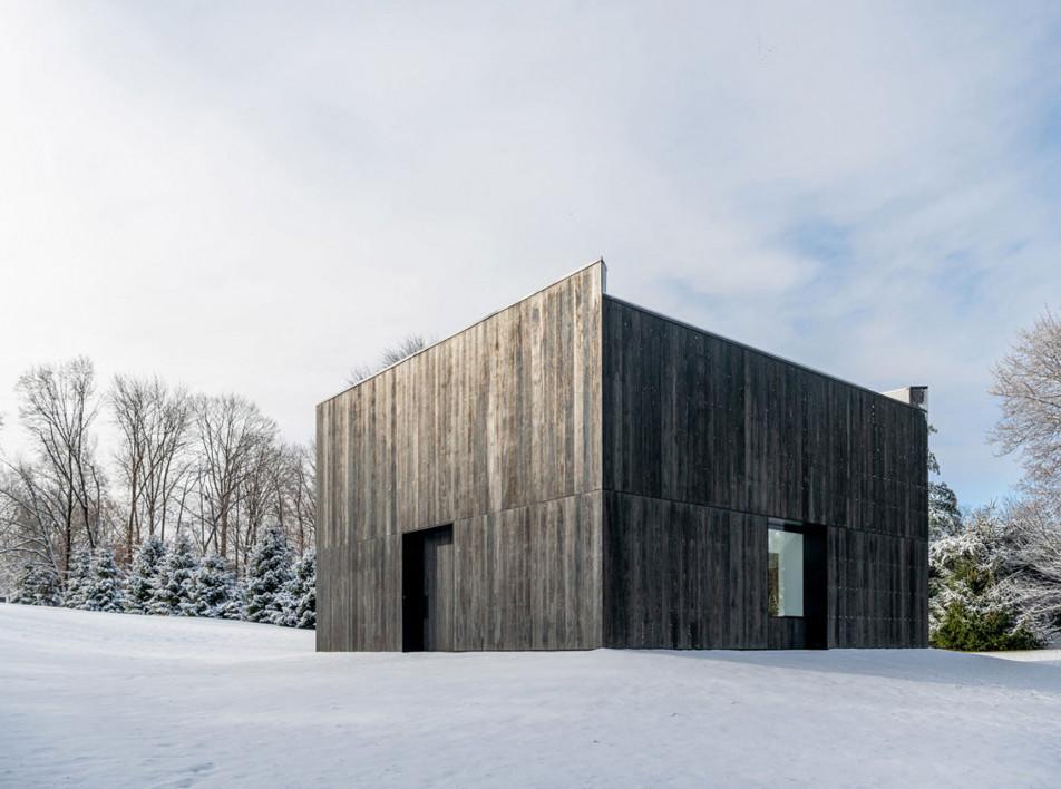 OLI Architecture: павильон для скульптуры