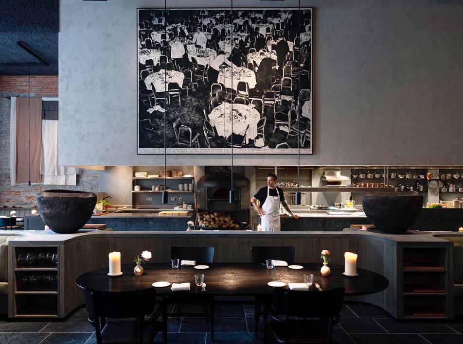 Space Copenhagen: проект мишленовского ресторана Le Pristine в Антверпене