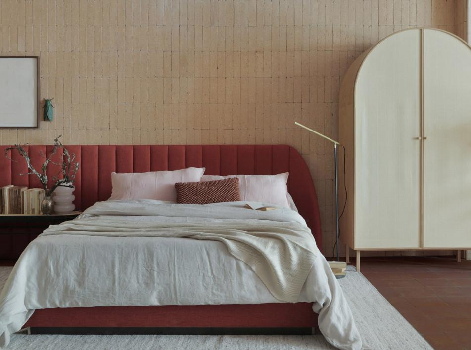 Бежевая спальня: 40 вдохновляющих интерьеров