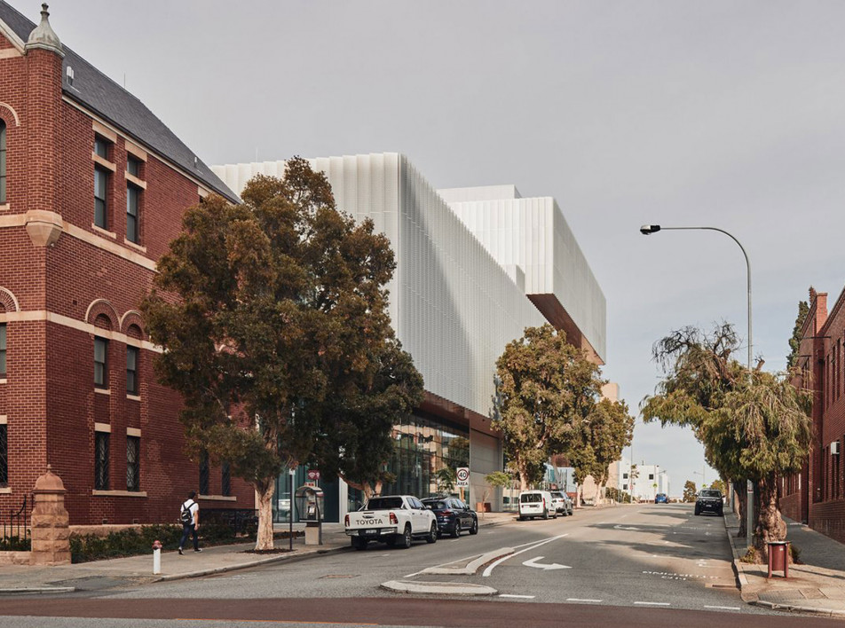 Музей культуры австралийских аборигенов по проекту Hassell + OMA