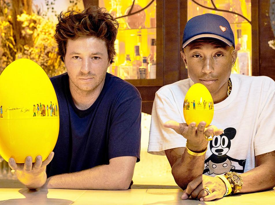 Pharrell Williams х Christofle: умение быть щедрым