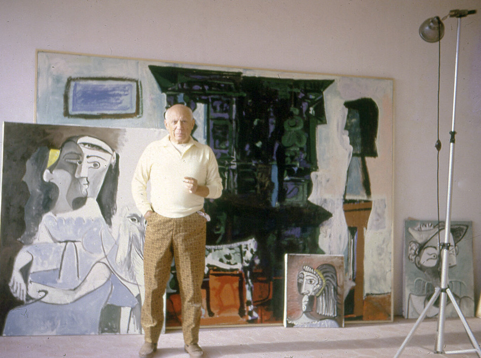 Пикассо на фотографиях Роберто Отеро