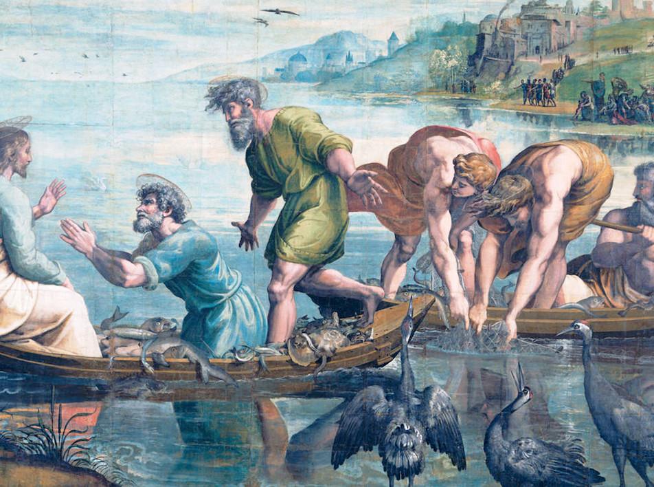 Картоны Рафаэля для Сикстинской капеллы можно рассмотреть онлайн