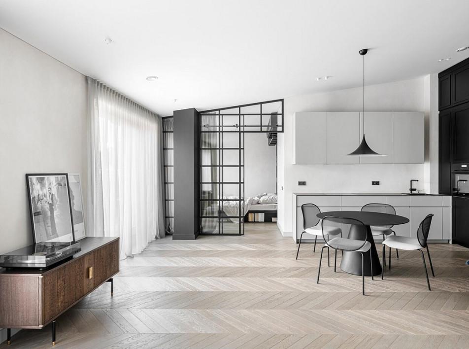 Redeco Lt: минималисткие апартаменты в Вильнюсе