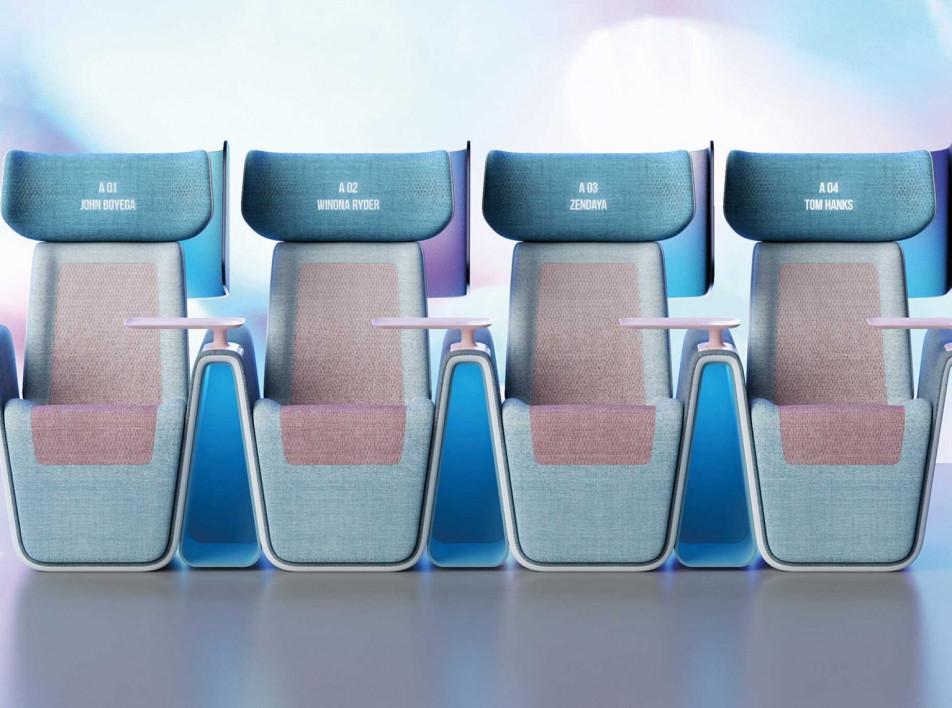 Кресла для кинотеатров по проекту Layer