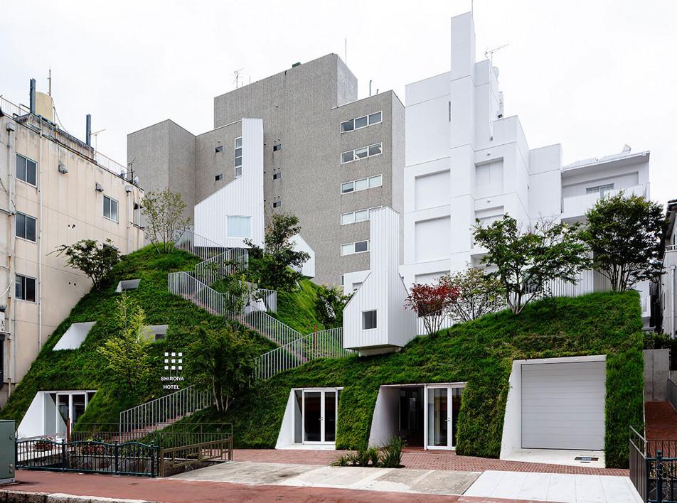Невероятный отель в Маэбаси по проекту Су Фудзимото
